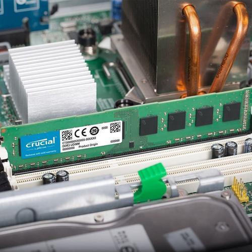 Crucial 8GB (1 x 8GB) 1600MHz DDR3L 240-Pin Non-ECC CL19 DIMM PC Memory Module