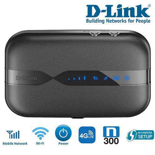 D-Link 4G Unlocked Wireless N300 Mobile Broadband Router - Wi-Fi Portable Hotspot