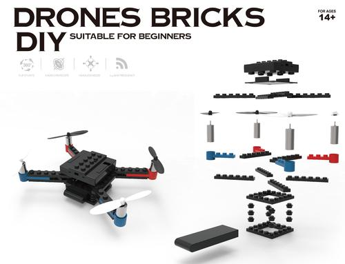 Flying Gadgets Build a Brick DIY Drone