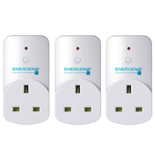 Energenie MiHome Plug Adapter - 3 Pack