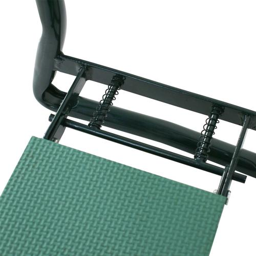 Foldable Garden Bench Kneeler with Tool Bag