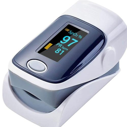 Fingertip Blood Oxygen Meter SPO2 OLED Pulse Heart Rate Monitor