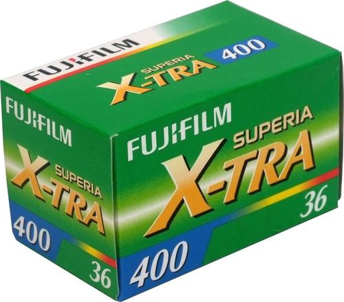 Fujifilm Superia X-TRA 400 36 Exposure Colour Print Film - 3 Pack