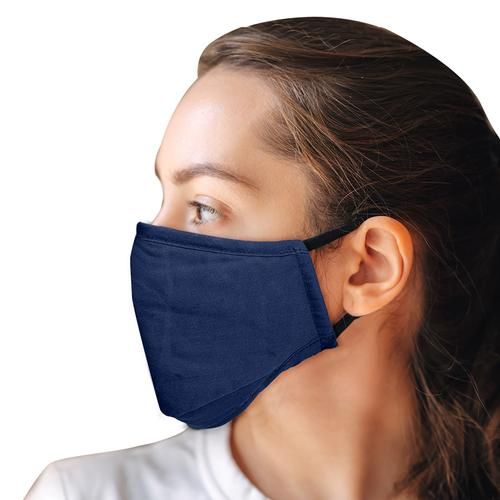 Washable Full Fabric Fashion Face Mask + 2 PM2.5 Filters - Blue