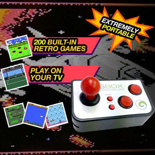 GBOX Retro 200 Video Games Console