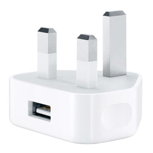 Apple 1A USB Mains Charger - White - FFP