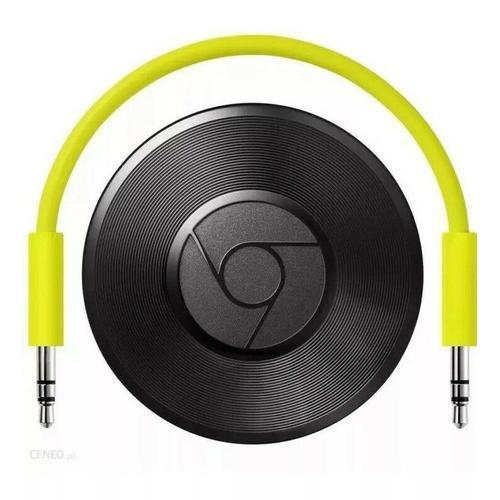 Google Chromecast Audio + USB Mains Plug - Refurbished FFP