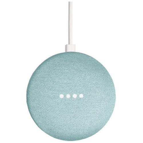 Google Home Mini Smart Speaker - Aqua - Refurbished FFP