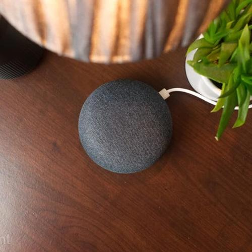 Google Nest Mini 2nd Generation - Charcoal (Official UK Version)