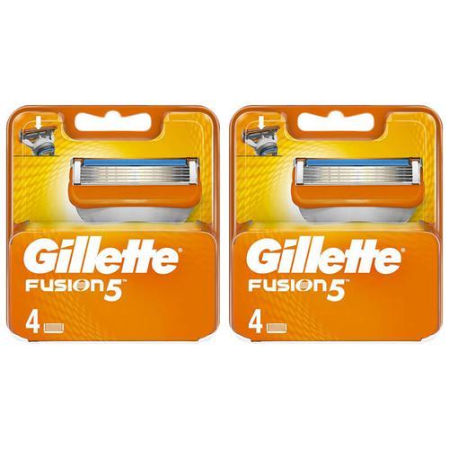 Gillette Fusion 5 Replacement Razor Blades - 2 x 4PK Refills
