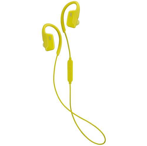 JVC AE Wireless Bluetooth Sports Clip Headphones - Yellow