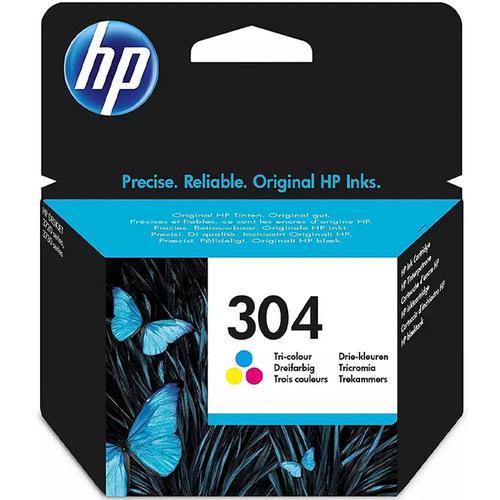 HP 304 Original Tri-Colour Ink Cartridge (N9K05AE) - Single Pack