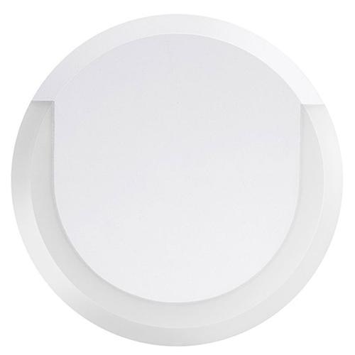 Integral Outdoor Lunox LED Mini Wall Light 8W 3000K (Warm) IP54 - White