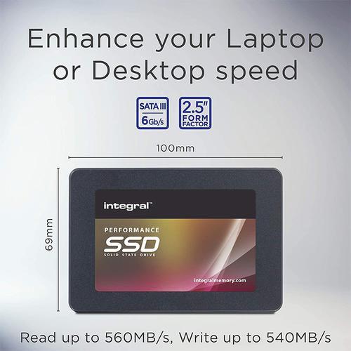 Integral 1TB P Series 5 SATA III SSD Drive - 560MB/s
