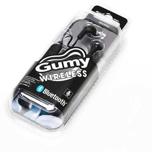 JVC Gumy Wireless In Ear Headphones - Black