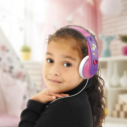 JVC Tiny Phones Kids Stereo Headphones - Pink