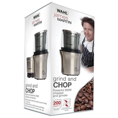 WAHL James Martin Grinder and Chopper Stainless Steel