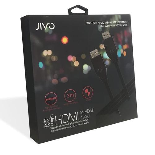 Jivo HDMI Cable 3M - Black