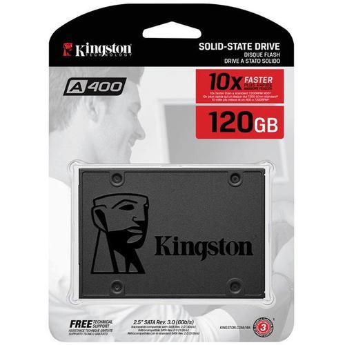 "Kingston 120GB A400 SSD 2.5"" SATA III Solid State Drive - 500MB/s"