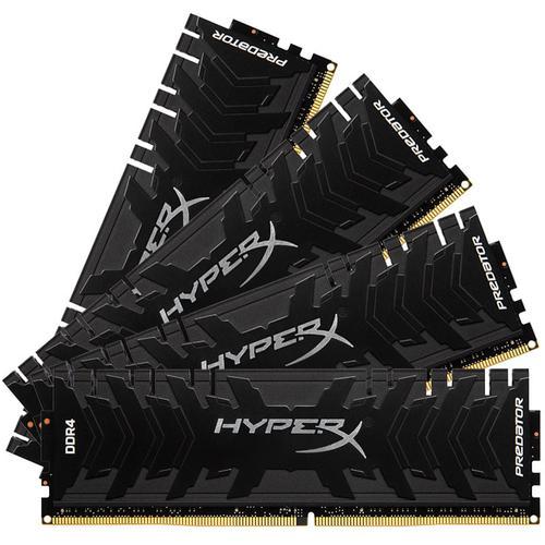 HyperX Predator 32GB (4x8GB) 2666MHz DDR4 Non-ECC 288-Pin CL13 DIMM PC Memory Module