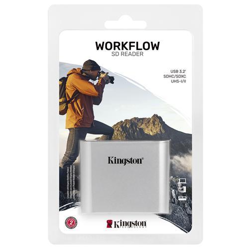 Kingston Workflow UHS-II SD Card Reader