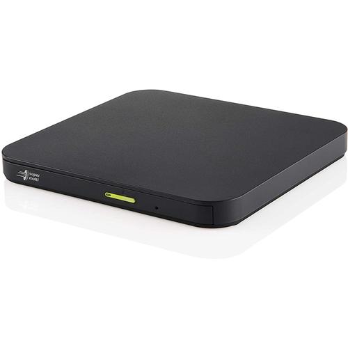 LG Ultra Slim Multi Portable DVD Optical Drive - Black