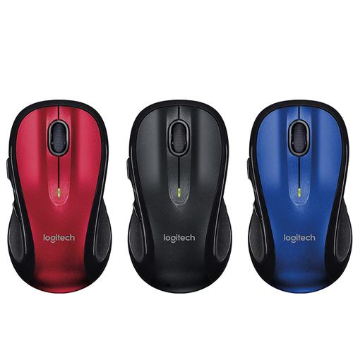 Logitech M510 Wireless Mouse - Red