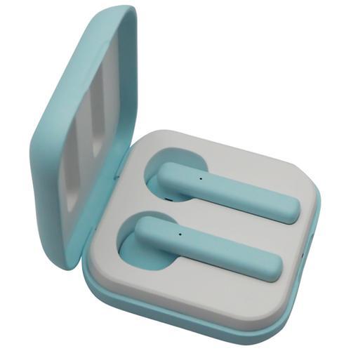M1011 TWS Drahtlose Ohrhörer Bluetooth 5.0 mit Ladeetui - Türkisblau