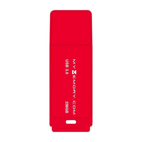 MyMemory 256GB 3.0 USB Flash-Laufwerk - 200MB/s - Rot