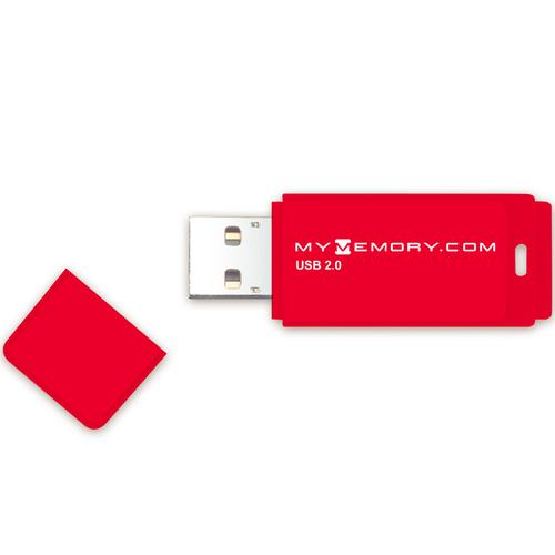 MyMemory 8GB USB Flash Drive - Red