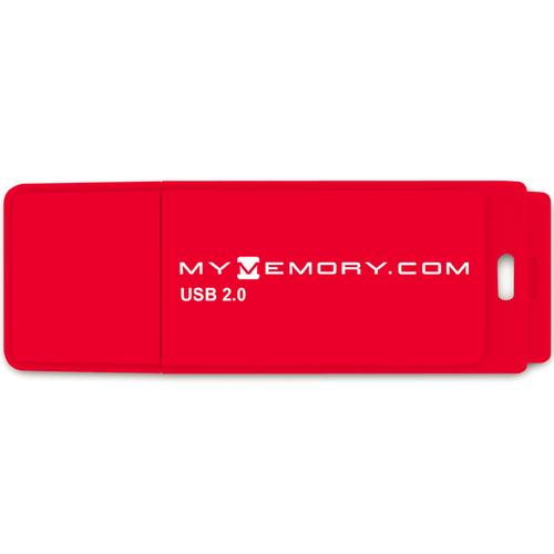 MyMemory 8GB USB Flash Drive - Rot
