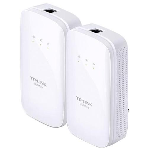 TP-Link AV1200 TL-PA8010 1200Mbps Gigabit Powerline Starter Kit White (Twin Pack)