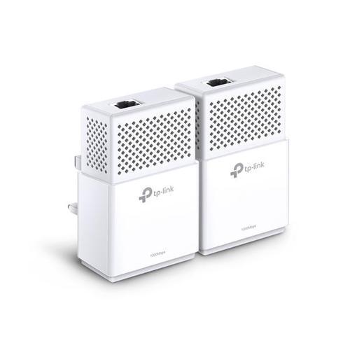TP-Link AV1000 TL-PA7010 1000Mbps 1-Port Gigabit Powerline Starter Kit White (Twin Pack)