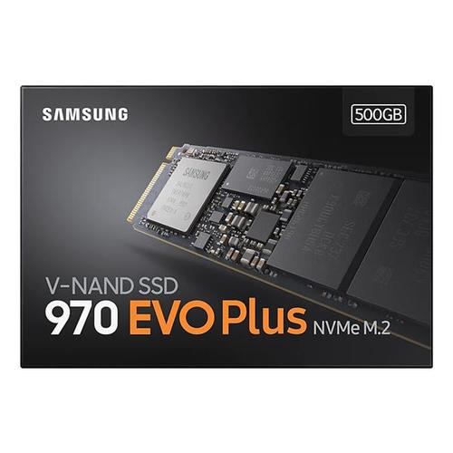 Samsung 970 Evo Plus 500GB PCI Express M.2 Solid State Drive Internal - 3500MB/s