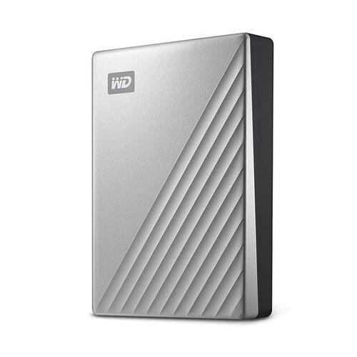 WD 1TB My Passport Ultra USB-C Portable Hard Drive External - Silver