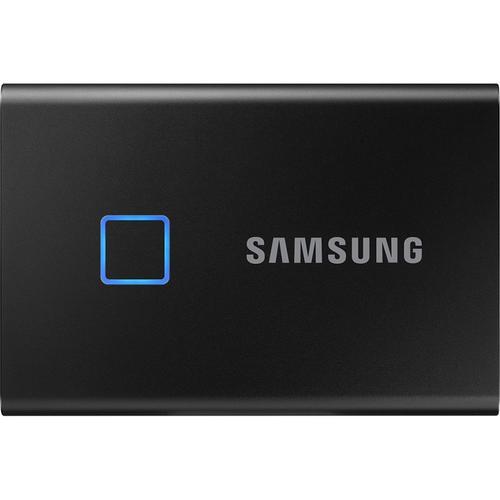 Samsung 1TB T7 USB-C Touch Portable SSD Drive (Black) - 540MB/s