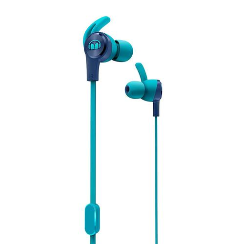 Monster iSport Achieve In-Ear Sport Headphone - Blue