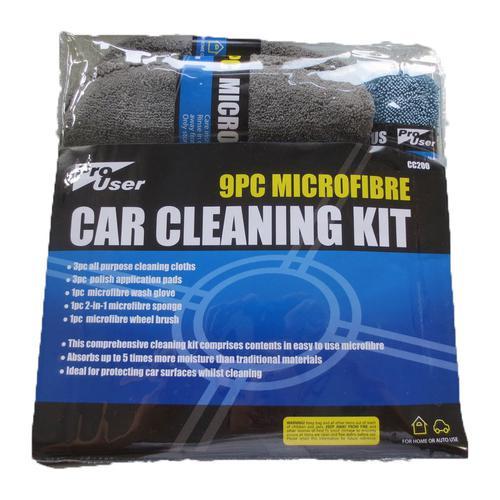 Microfibre Car Cleaning Polishing Kit