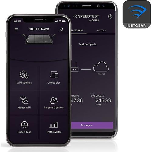 Netgear AC1200 Dual Band Wi-Fi Router (R6120) 802.11ac 4 Port 900Mbps