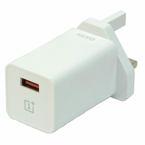 OnePlus 3 3T 5 5T 6 Dash UK Wall Fast Charger DC0504B4GB FFP - White