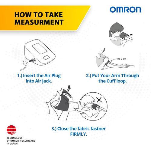 Omron M2 Basic Automatic Upper Arm Blood Pressure Monitor (HEM-7121J)
