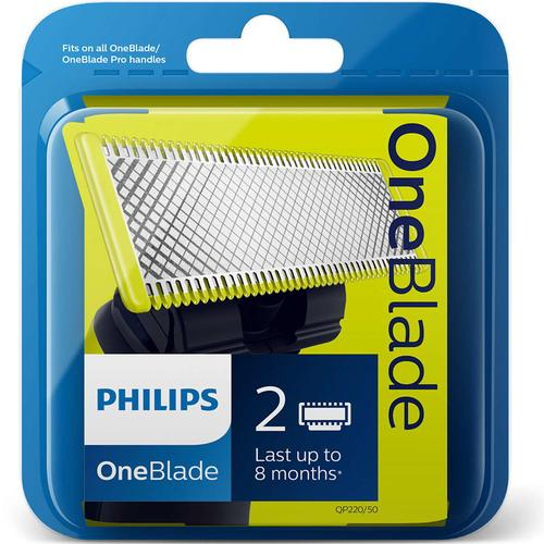 Philips OneBlade Replacement Blade QP220/50 - Twin Pack