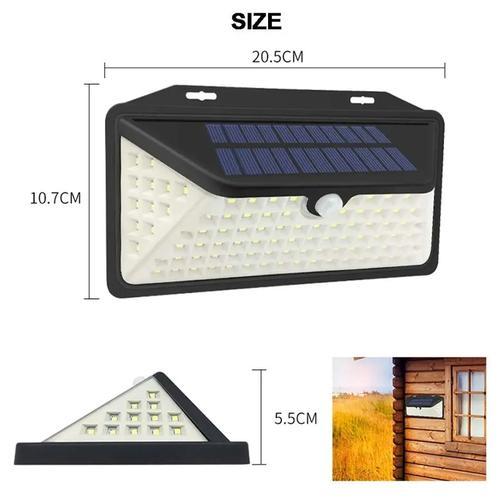 Außen-Solarleuchte 102 LEDs 5,5V/1W Bewegungssensor IP65 LED-Leuchte