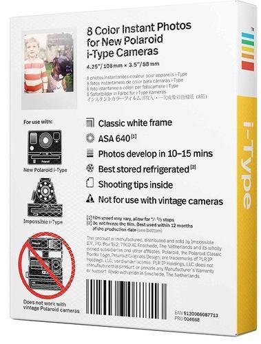 Polaroid Originals 4668 Color i-Type Film - 2 Pack