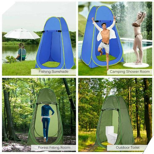 Portable Pop-Up Tent Privacy Changing Unit - Blue