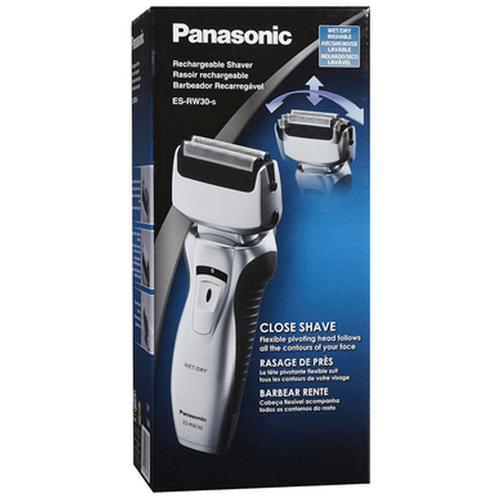 Panasonic ESRW30 Wet/Dry Rechargeable Shaver - Silver