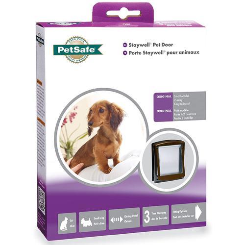 PetSafe Staywell Original 2 Way Pet Door (Small) - Brown
