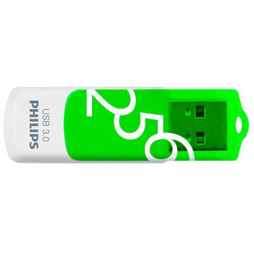 Philips 256GB USB 3.0 Flash Drive Vivid Edition Green - 100MB/s