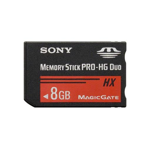 Sony 8GB Memory Stick PRO-HG Duo HX - 30MB/s