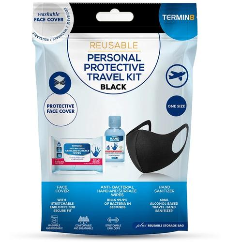 Re-Usable Personal Protection Travel Kit